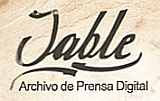 JABLE. Archivo de prensa digital canaria