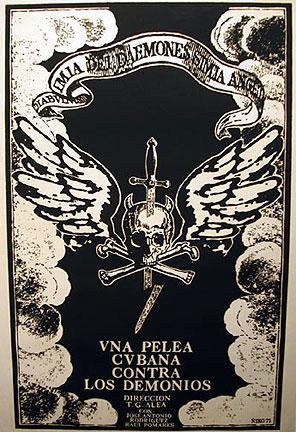 <em>Una pelea cubana contra los demonios</em> (Cuba, 1971) de Tomás Gutiérrez Alea